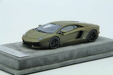 1/43 Looksmart Lamborghini Aventador LP700 Matt Green Free Shipping/ MR BBR