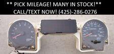92-95 Jeep Wrangler Instrument Gauge Cluster Speedometer OEM PICK YOUR MILEAGE!