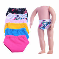 Handmade Cool Underwear Briefs Panties For 18-inch Toy Dolls Gift