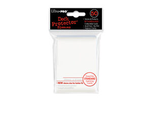 ULTRA PRO Regular Deck Protectors 50ct - Solid White