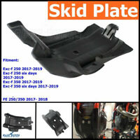 Motorbike Skid Plate Under Side Engine Case Cover Guard For EXC-F 350 17-19