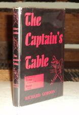 1954 1ST ED. THE CAPTAIN'S TABLE - SIGNED by RICHARD GORDON - HUMOR - NOVEL