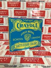 Crayola Gold Medal School Crayons Pop Art Vintage Box of 64 Limited Edition NEW!