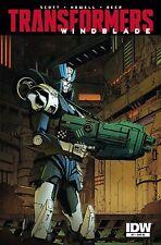 TRANSFORMERS WINDBLADE #7 1:10 Variant IDW Comics NM - Vault 35