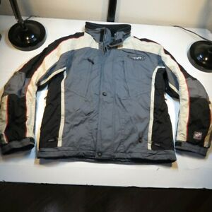 SPYDER XTL 10000 THINSULATE INSULATED SKI SNOWBOARD HOODED VENTED JACKET Mens M