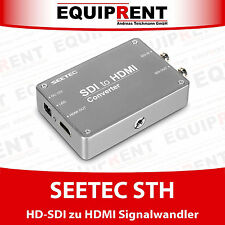 Seetec STH HD SDI a HDMI Convertitore di segnale/Converter con chassis TITANIO (eqm86)