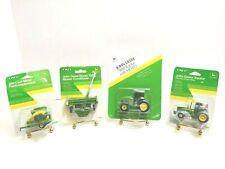 Lot of 4 VTG ERTL JOHN DEERE 1/64 Scale Farming Diecast In Original Packaging!!
