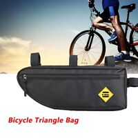 Bike Bicycle Frame Front Tube Bag MTB Cycling Triangle Storage Bag Pack Pouch