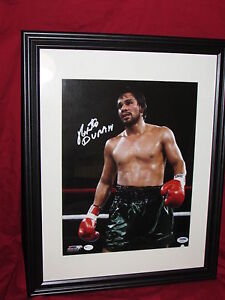 Roberto Duran Autographed 11x14 Photo Matted & Framed PSA/DNA