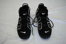 Nike Air More Uptempo Shoes Sneakers 414962-002 2016 Black White Size 9 Eur 42.5