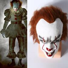Cosplay Stephen King's It Mask Pennywise Clown Mask Unisex Halloween Costume