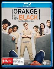 Orange Is The New Black : Season 4 (Blu-ray, 2017, 3-Disc Set)