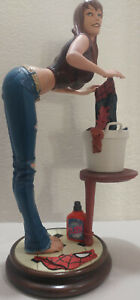 Sideshow Mary Jane Comiquette Statue Figurine Spiderman Marvel 458 of 2000