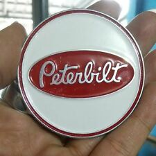 Peterbilt Horn Button Medallion Emblem vintage Trucks LOGO HANDMADE ALLOY