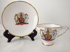 Queen Elizabeth Coronation Cup & Saucer, Royal Stafford Bone China