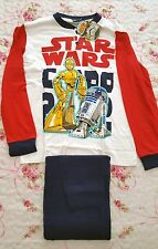 Star Wars - Pigiama unisex Anni 12 - Rosso - Original Star War - C3 PO - R2 D2
