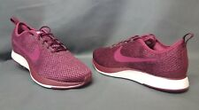 Nike Dualtone Racer SE (GS) Athletic Sneakers Mesh Berry White Girls Size 7 NEW!