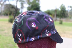 CYCLING CAP KISS BAND 100 % HANDMADE IN USA CATTON FABRIC  L M S