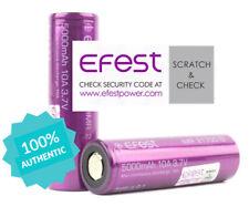 2x Fest IMR 21700 10A 5000mAh Rechargeable High Drain Flat Top Batteries