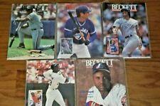 Beckett Baseball Card Monthly 1994 5 Issues