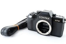 [Very Good]  Contax 167 MT 35mm SLR Film Camera Body w/strap From Japan