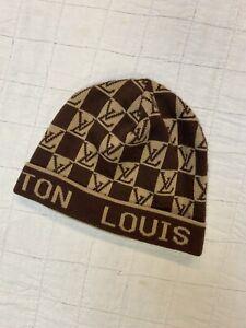 LOUIS VUITTON LV BEANIE CAP HAT WINTER FASHION