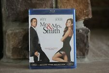 MR & MRS SMITH BRAD PIT & ANGELINA JOLIE BLUE-RAY DISC WIDESCREEN NEW SEALED