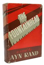 The Fountainhead ~ First Edition ~ Ayn Rand ~ 1st Printing ~ 1943 Classic Book