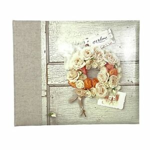 Hallmark Beautiful Floral Refillable Guest Book For Any Occasion New