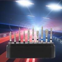 Dental Diamond Burs High Speed Handpiece Burs FG 1.6mm Polishing Drills 10pcs