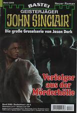 John Sinclair Roman nº 2068-de perseguidores el asesino infierno-jason Dark-nuevo