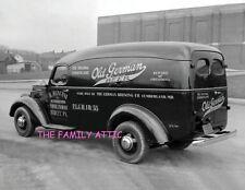 OLD GERMAN BEER 1930s PANEL TRUCK 8.5X11 PHOTO B MANGINI DISTRIBUTORS DUDLEY PA
