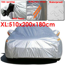 XL SUV Full Car Cover Waterproof Outdoor Breathable UV Protector For Mazda CX-9