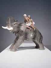 +# A003028 Goebel Archivmuster, Cortendorf, 2011, Elefant mit Reiter (ind.Paar)