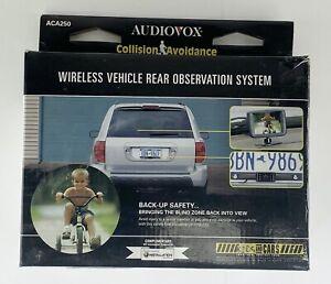 Audiovox Wireless Vehicle Rear Observation System Backup System ACA250 Open Box