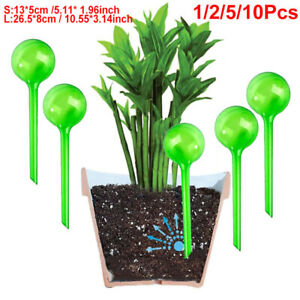 4 Pack Plant Watering Globes Cute Self Watering Bulbs Colorful Glass Self Watering Globes Decorative Mushroom Design Self Watering Spikes Automatic Plant Waterer for Indoor and Outdoor Plants