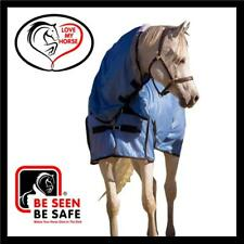 LOVE MY HORSE 6'6 Summer Mesh Combo Rug 270gsm No Flies UV Protection - Blue