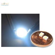 """10 SMD LEDs ultra-weiß PLCC-2 3528, weiße Typ """"WTN-PLCC2-1300uw"""" white blanc SMT"""