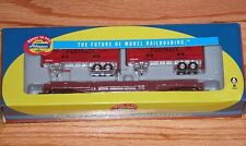 ATHEARN 96372 50' FLAT WITH 2 25' TRAILERS CANADIAN NATIONAL CN 663545