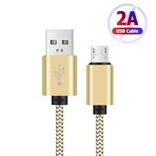 ULTRA LONG BRAIDED MICRO USB CABLE POUR IPHONE CHARGEUR FOUDRE CORDON DATA SYNC