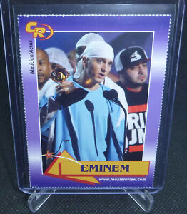 2003 Celebrity Review Rookie Review EMINEM Musician/Actor Card #3