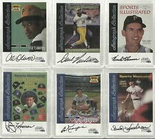 1999 Sports Illustrated Greats of the Game - DAVE PARKER - Autograph - PIRATES