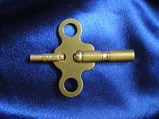 Brass Double End Key For JUF Jahresuhrenfabrik 400 Day / Anniversary Clocks USA