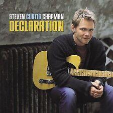STEVEN CURTIS CHAPMAN-DECLARATION(FACTORY SEALED CD)