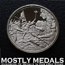Franklin Mint Sterling Silver Mini-Ingot: 1863 Battle of Gettysburg - Civil War