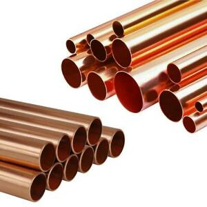 Copper Tube Pipe 15mm 22mm Lengths Pipework Cut-to-Size BEST PRICES!!