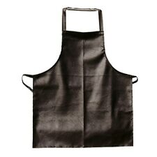 "Update International Vinyl Bib Apron, Brown, 26"" x 41"""