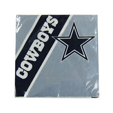 New NFL Dallas Cowboys 20pcs Dinners Napkins Partyware Party Supplies