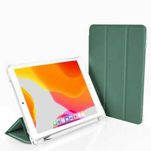 For iPad 10.2 9.7 Air 10.9 Pro 11 Mini 5 Shockproof PU Leather Smart Case Cover