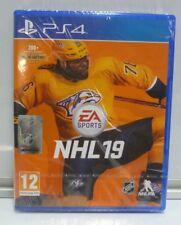 NHL 19 - PLAYSTATION 4  PS4 NEW SEALED PAL REGION FREE